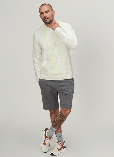 People By Fabrika Sweatshirt Ekru